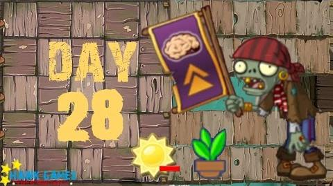 Plants vs. Zombies 2 - Pirate Seas Day 28