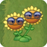 Twin Sunflower Costume2