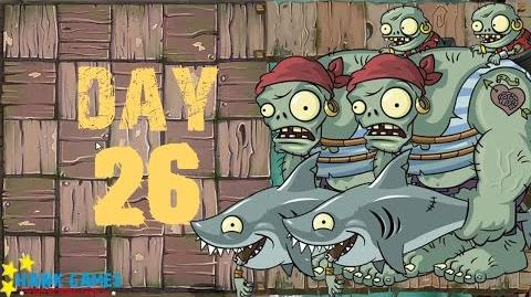 Plants vs. Zombies 2 - Pirate Seas Day 26