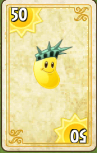 Sun Bean Costume Card