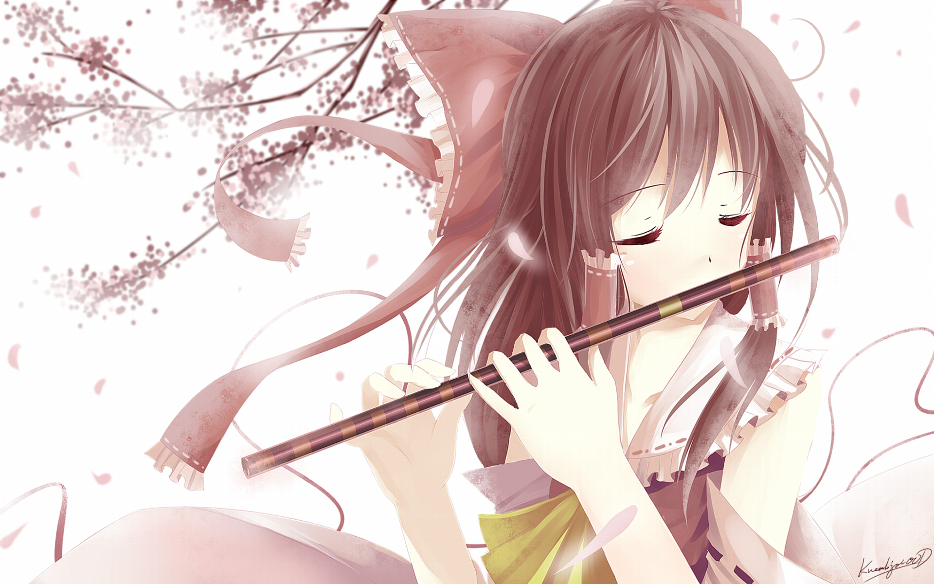 Anime Girl With Brown Hair Galhairs