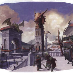 Dragonborn city.