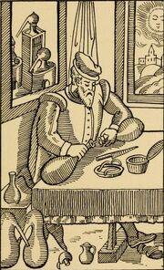 Alchemist at work