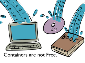 Containers not free