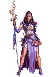 Pathfinder priestess comm by yamao-d6cayua