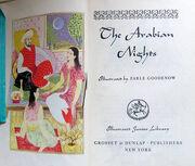 The Arabian NIghts - illustrations 1