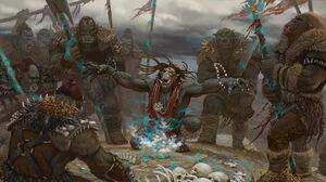 Orc shaman by markmolchan-d5874kg