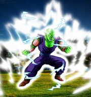 Piccolo aura wallpaper by spongeboss-d37r4o6