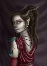 Tiefling by Fiery007