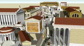 800px-Roman forum sketch up model