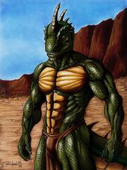 Reptile poser 2013 by reptilecynrik