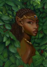 Fantasy Portrait Female Elf by digistyle
