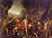 800px-Jacques-Louis David 004 Thermopylae