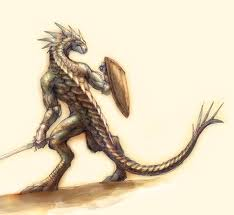 Lizard man Gymnitos