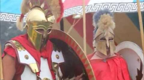 Military Odyssey 2012 Ancient Greek Hoplites Reenactment HD Video using Canon EOS 60D DSLR Camera