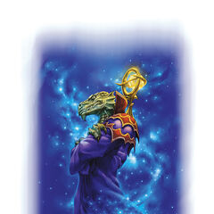 Vrakzire, the god of Magic (Cosmic Sorcerer)