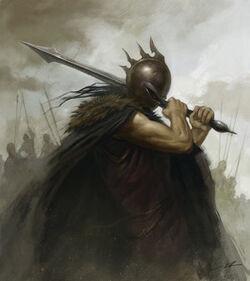 The Warrior by alanlathwell