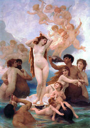 425px-The Birth of Venus by William-Adolphe Bouguereau (1879)