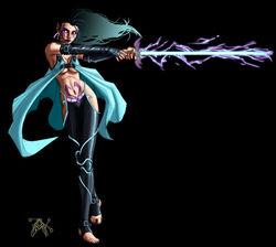 Shade Psi Blade Telepath by LazarusReturns