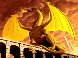 Imperial Gold Dragon Wallpaper ejk5i