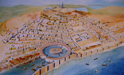 Carthage National Museum representation of city