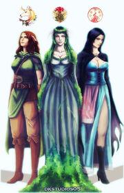 Forgotten realms goddess commission by dkstudios05-d5qf8tn