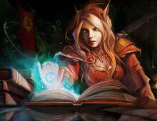Massalian Elf Arcanist