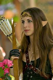 Elven Archer by atistatplay
