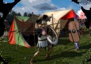 Greek Hoplite and Persian Warrior