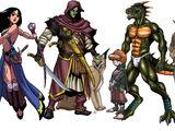 Races of Phaeselis