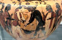 Atalanta Peleus Staatliche Antikensammlungen 596