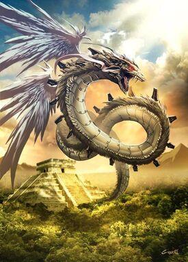Quetzalcoatl by GENZOMAN
