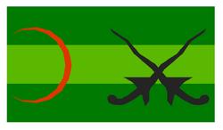 Flag of Kota Kambular (1780-1979)