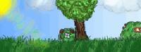 Vexilar's Garden Battle Background