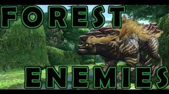 PSO2 Forest Enemies