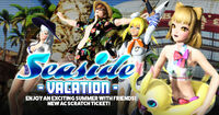 Seaside Vacation banner