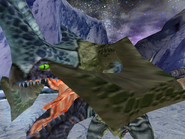 Sil dragon angry