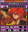 Pollux card ingame low quality