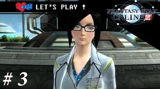 PSO2 SEA Let's Play! Part 3 Meeting Xion