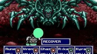 Phantasy Star IV - Boss 14 Dark Force, second encounter