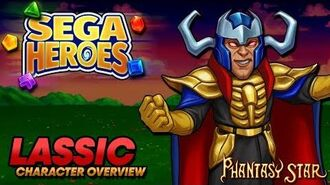 SEGA Heroes Lassic Character Overview Phantasy Star