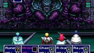 Phantasy Star IV - Boss 10 Dark Force, first encounter
