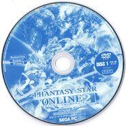 Pso2 ep3dx DVD Disc 1