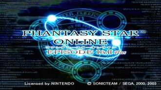Phantasy Star Online Episode I+II Plus - Opening Intro (HQ)