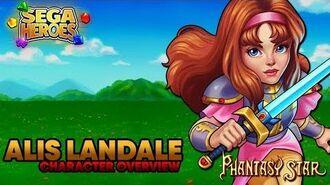SEGA Heroes Alis Landale Character Overview