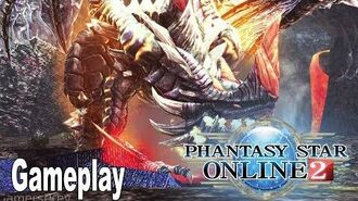 Phantasy Star Online 2 - Closed Beta Gameplay No Commentary 4K
