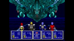 Psii dark force battle