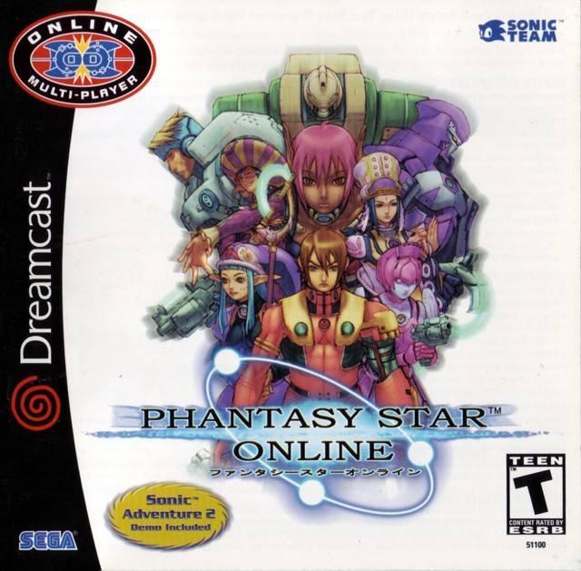 Phantasy star online dreamcast release date us