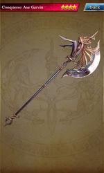 038 Conqueror Axe Garvin