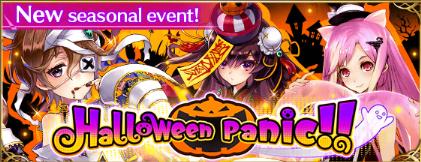 Halloween Panic banner